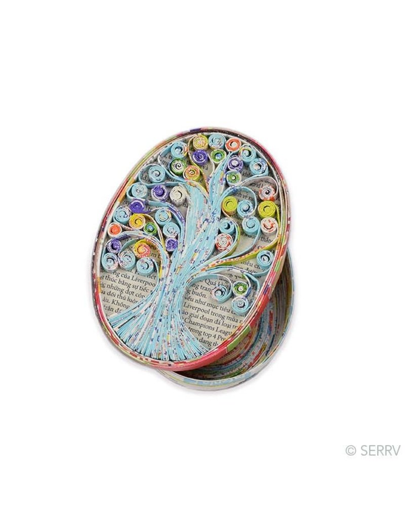 Tree of Life Recycled Box