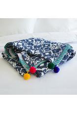 Ikat Sari Bedcover - Reversable