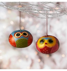 Ornament - Brilliant Owl Gourd