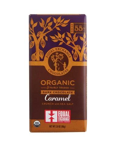Equal Exchange Chocolate, Dark Caramel Crunch