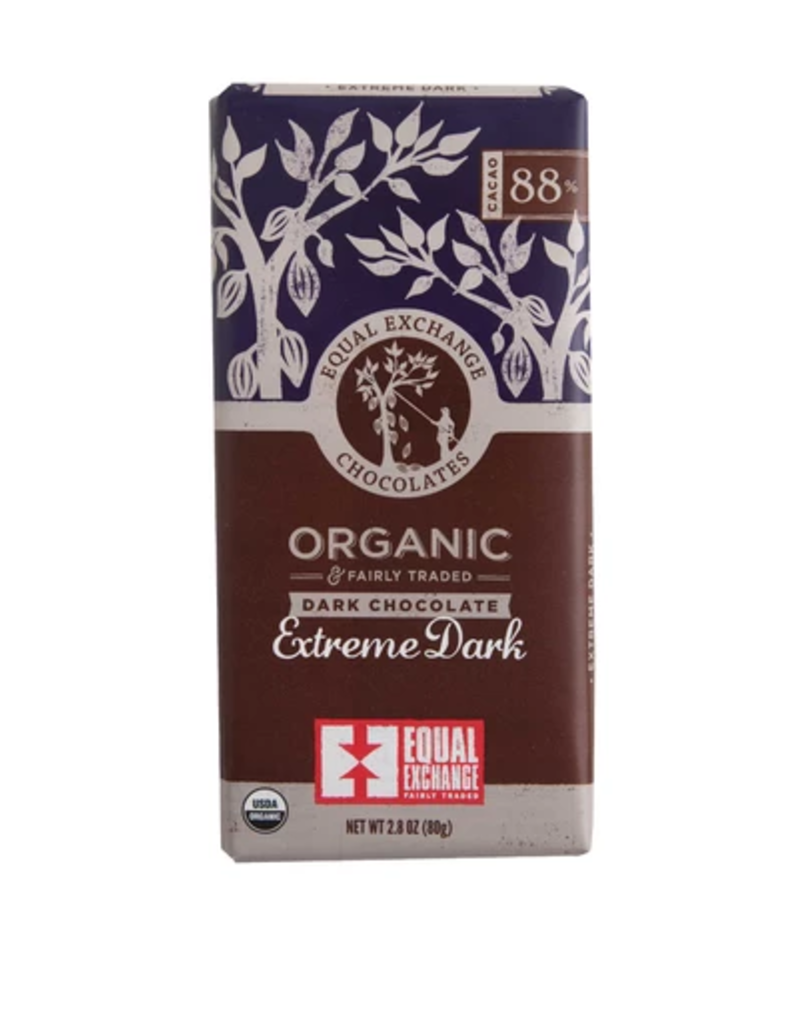 Equal Exchange Chocolate, Extreme Dark