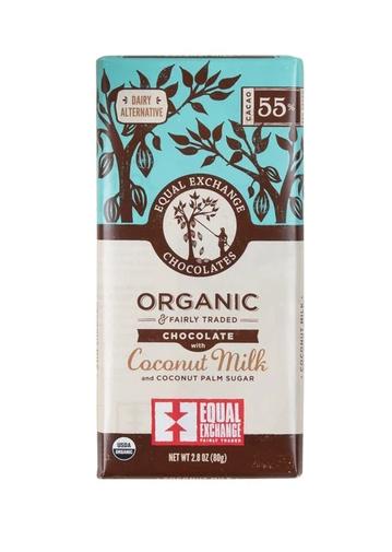 Equal Exchange Chocolate - Coconut Milk, Vegan