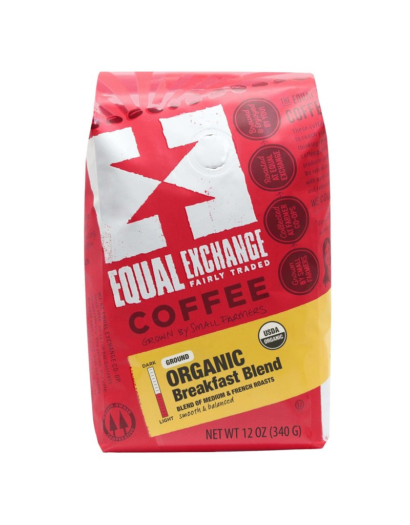 Equal Exchange Coffee - Breakfast Blend, Ground