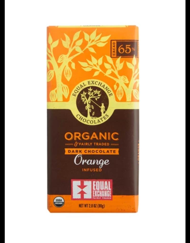 Equal Exchange Chocolate, Dark Orange