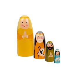 Nesting Doll Nativity