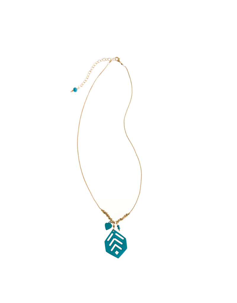Necklace - Bold Turquoise