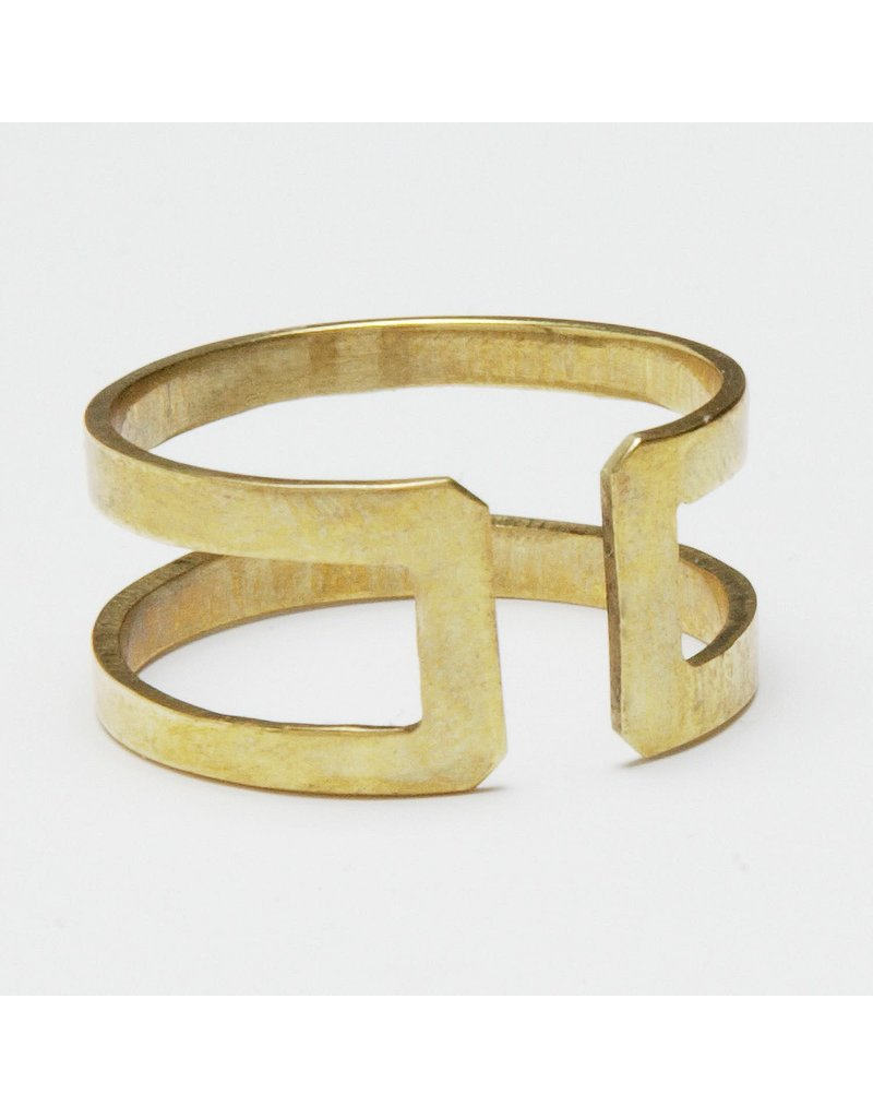 Ring - Brass Bombshell
