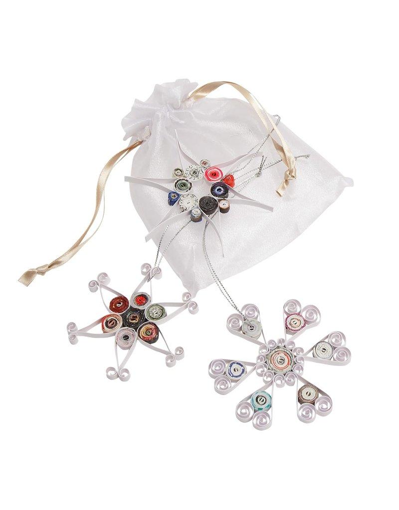 Ornament - Paper Filigree Snowflake