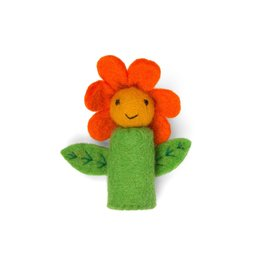 Finger Puppet - Sunflower
