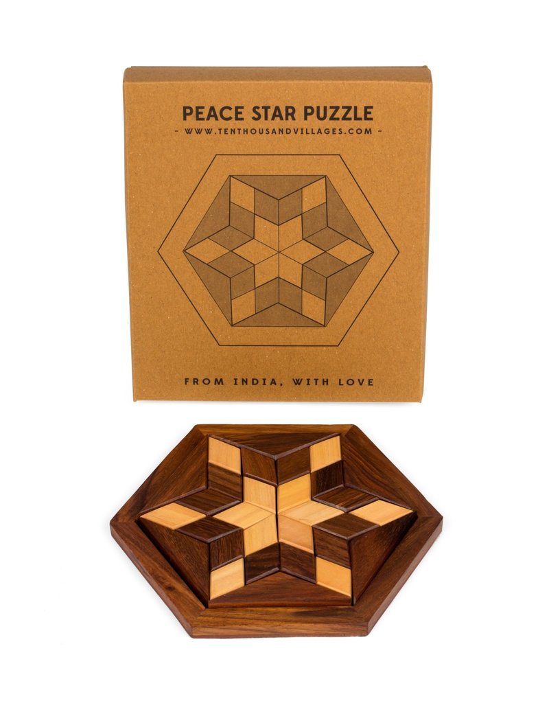 Puzzle - Peace Star