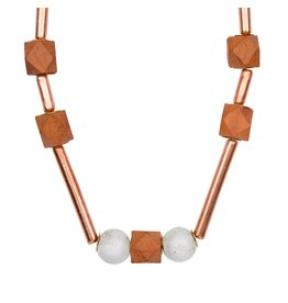 Necklace - Copper and Clay