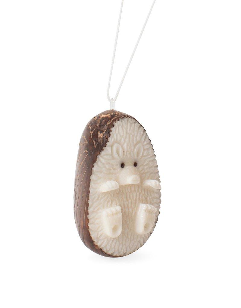 Ornament - Tagua Hedgehog