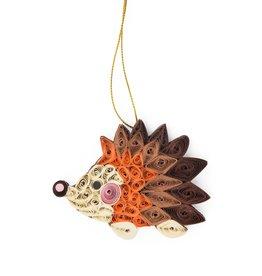 Ornament - Hedgehog, paper