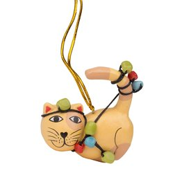 Ornament - Tangled Up Cat