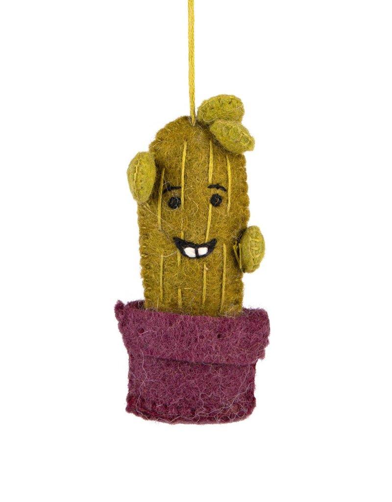 Ornament - Smiling Cactus