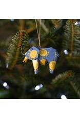 Ornament - Canimal Safari Elephant
