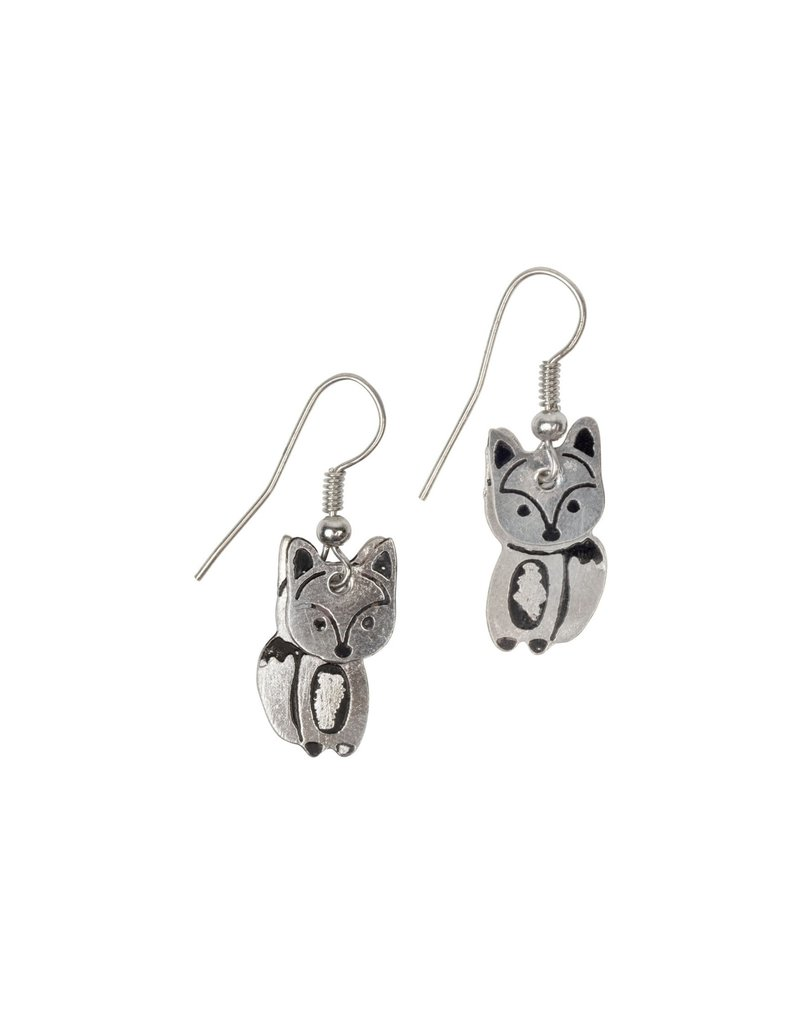 Earrings - Fox