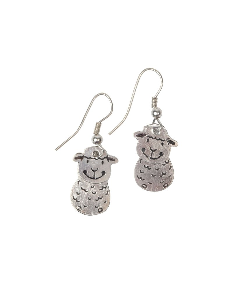Earrings - Sheep