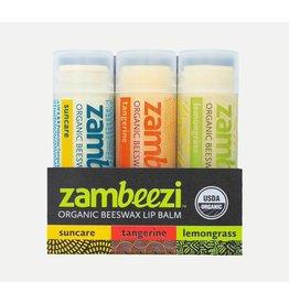 Zambeezi Lip Balm - Variety 3-Pack