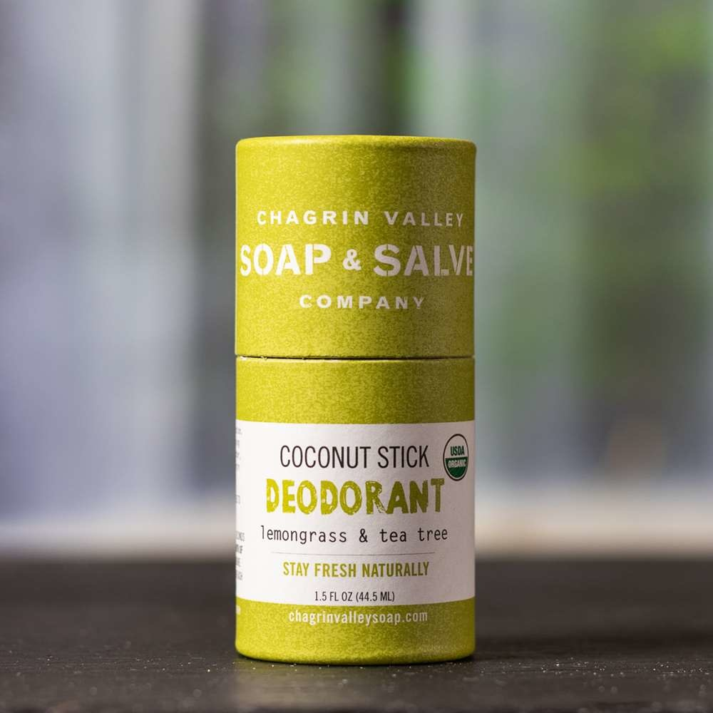 Deodorant - Coconut Stick Lemongrass Tea Tree