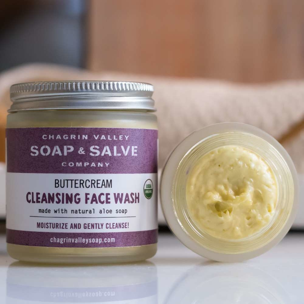 Cleansing Face Wash - Buttercream