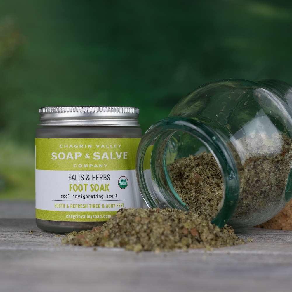 Foot Soak - Salts and Herbs