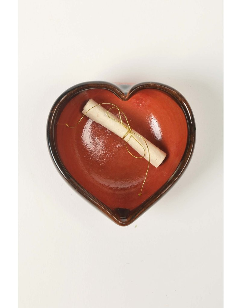Dish - Love Note Heart