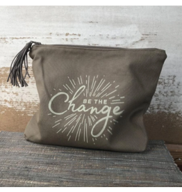 Zipper Pouch - Be the Change