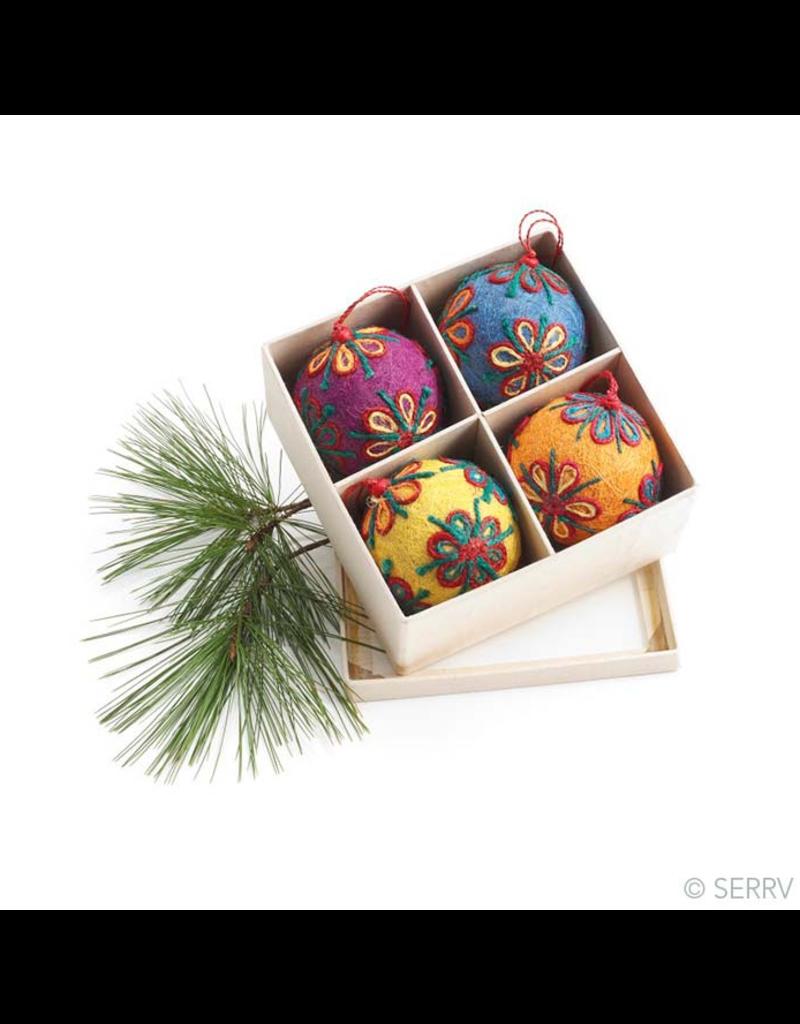 Ornament - Colorful Jute