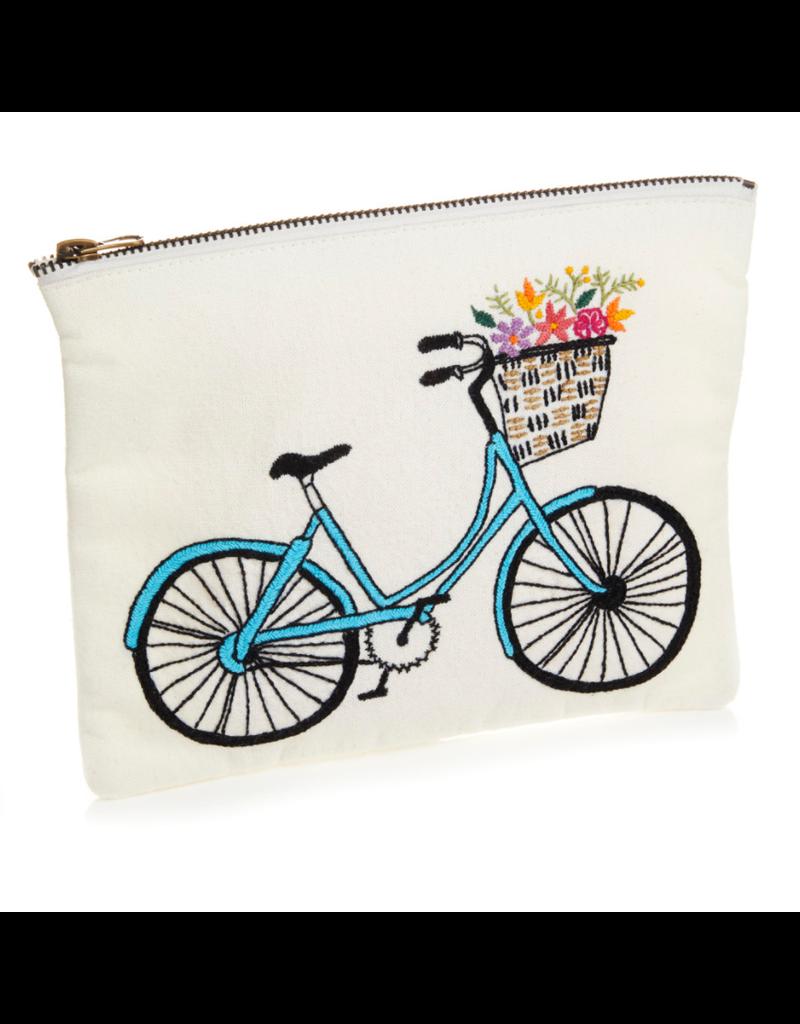 Pouch - Bicycle Zipper Medium