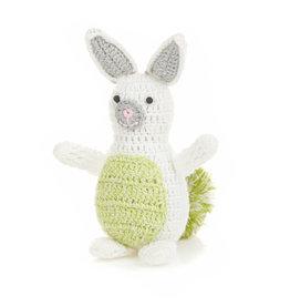 Bunny - Green Pom