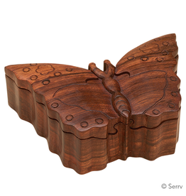 Puzzle Box - Butterfly