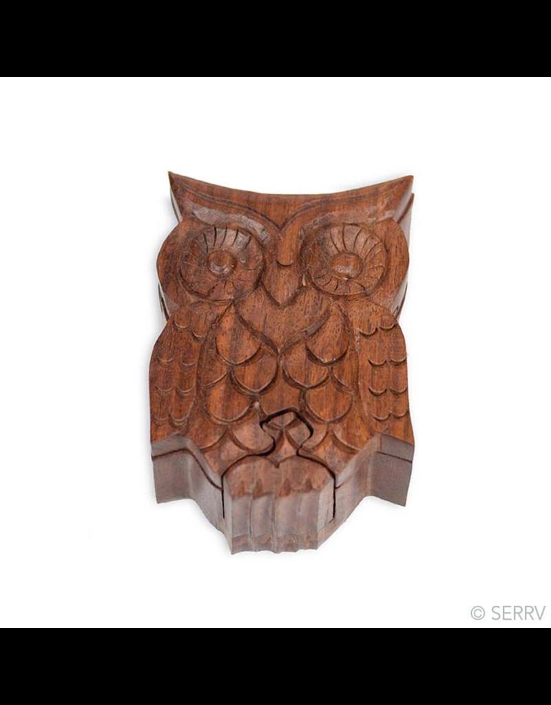 Puzzle Box - Owl