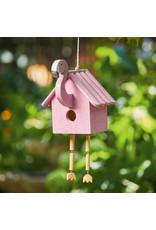 Bird House - Pink Flamingo