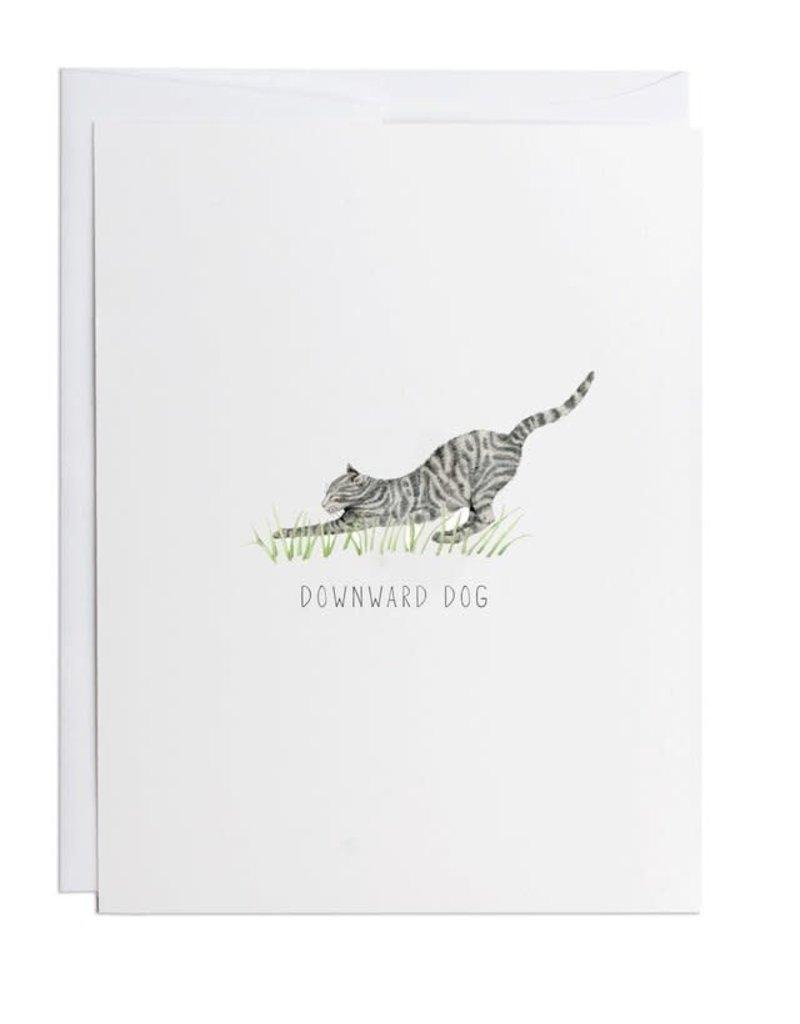 Card - Downward Dog