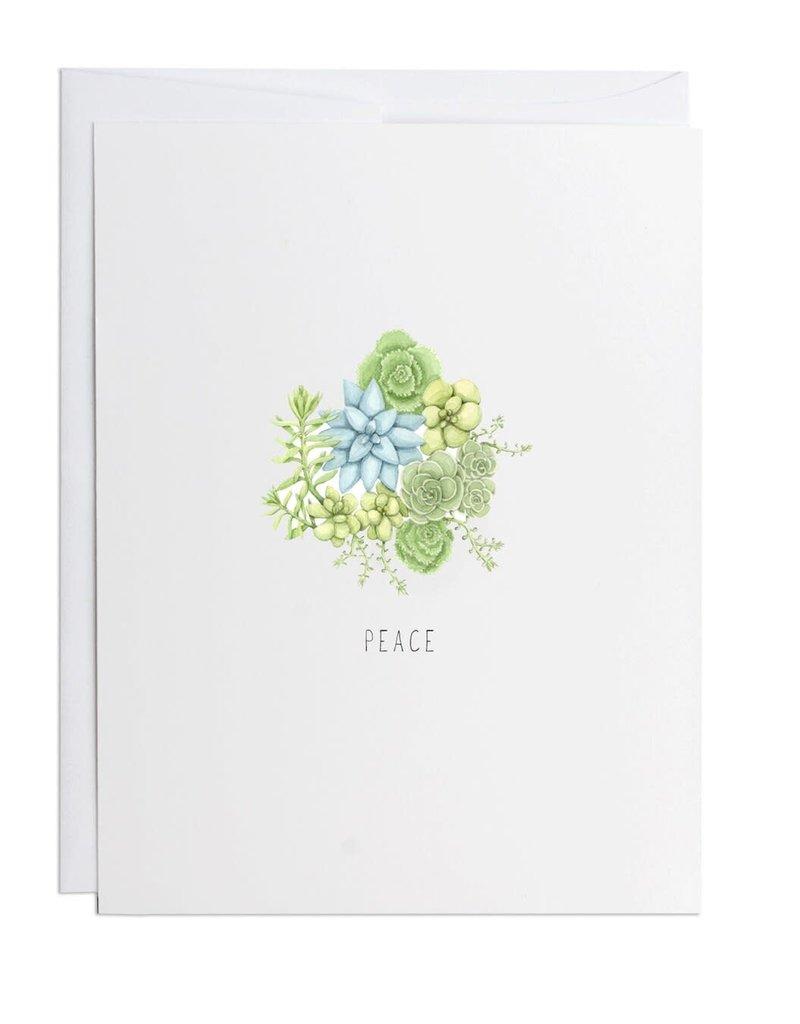 Card - Peace Sedum