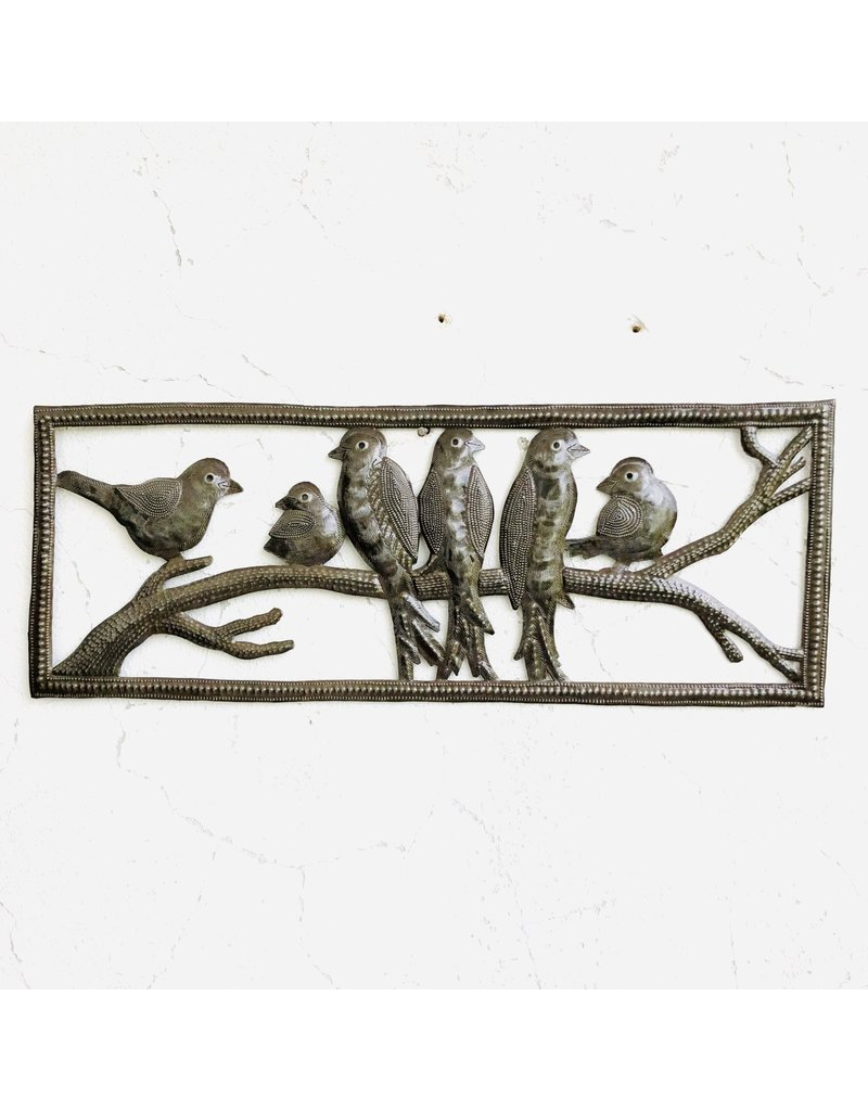 Wall Hanging - Birds on Perch