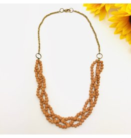 Necklace - Aromatherapy Braided