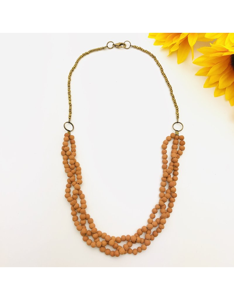 Necklace - Aromatherapy Braided