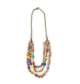 Necklace - Multistrand Colore