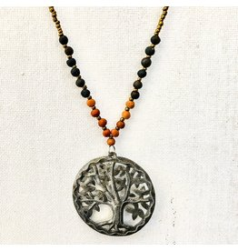 Necklace - Tree of Life Aromatherapy