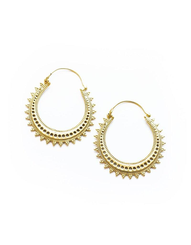 Earrings - Full Moon