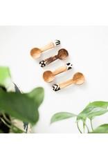 Spoon Set - Olive Wood Bone Accent