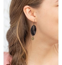 Earrings - China Girl Charm by Atelier Calla