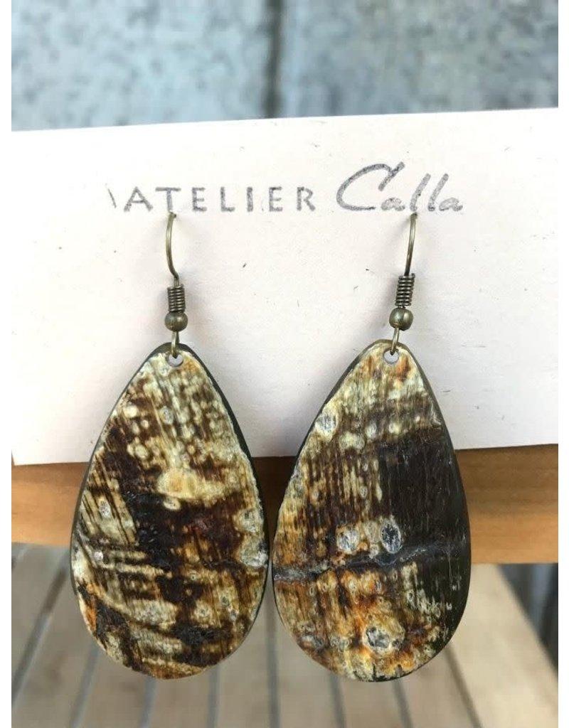 Earrings - Petal by Atelier Calla