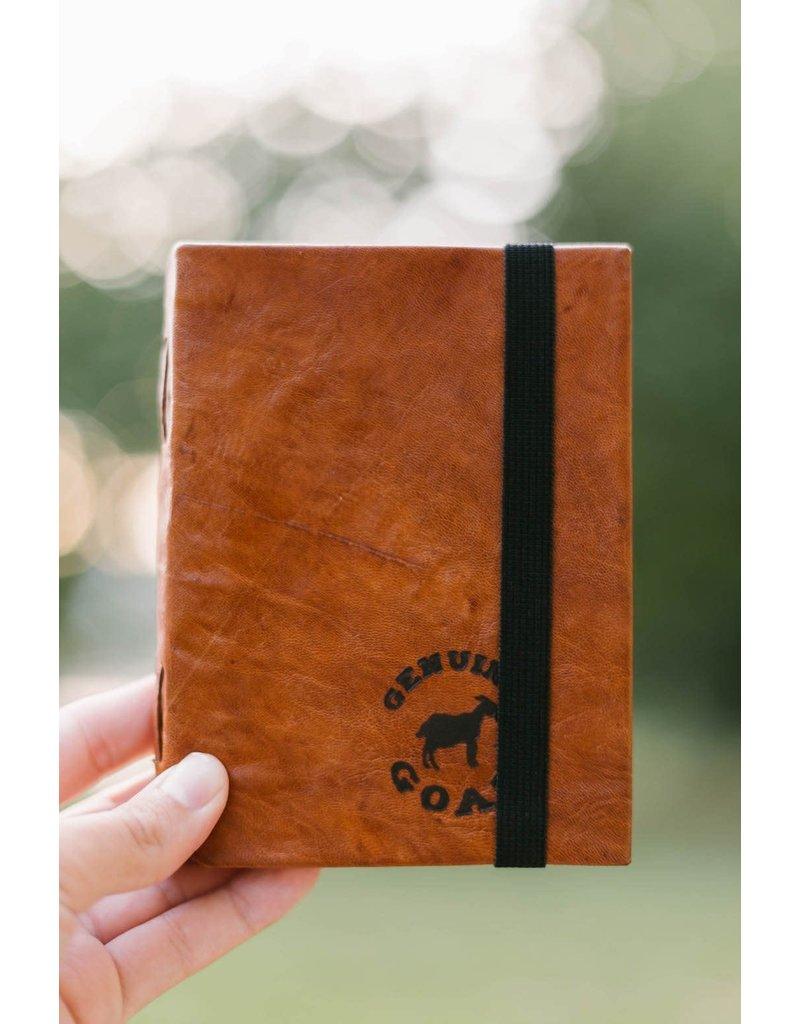Journal - Leather Branded Medium