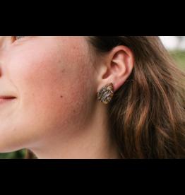 Earrings - Teardrop Horn
