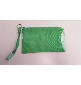 Pouch - Batik  Green