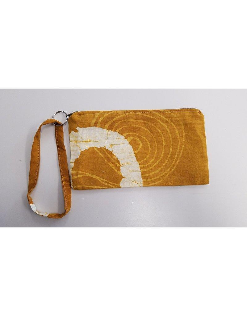 Pouch - Batik  Yellow