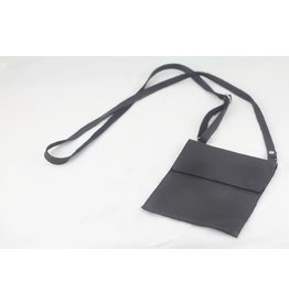 Bag - Cross Body Sheepskin Black